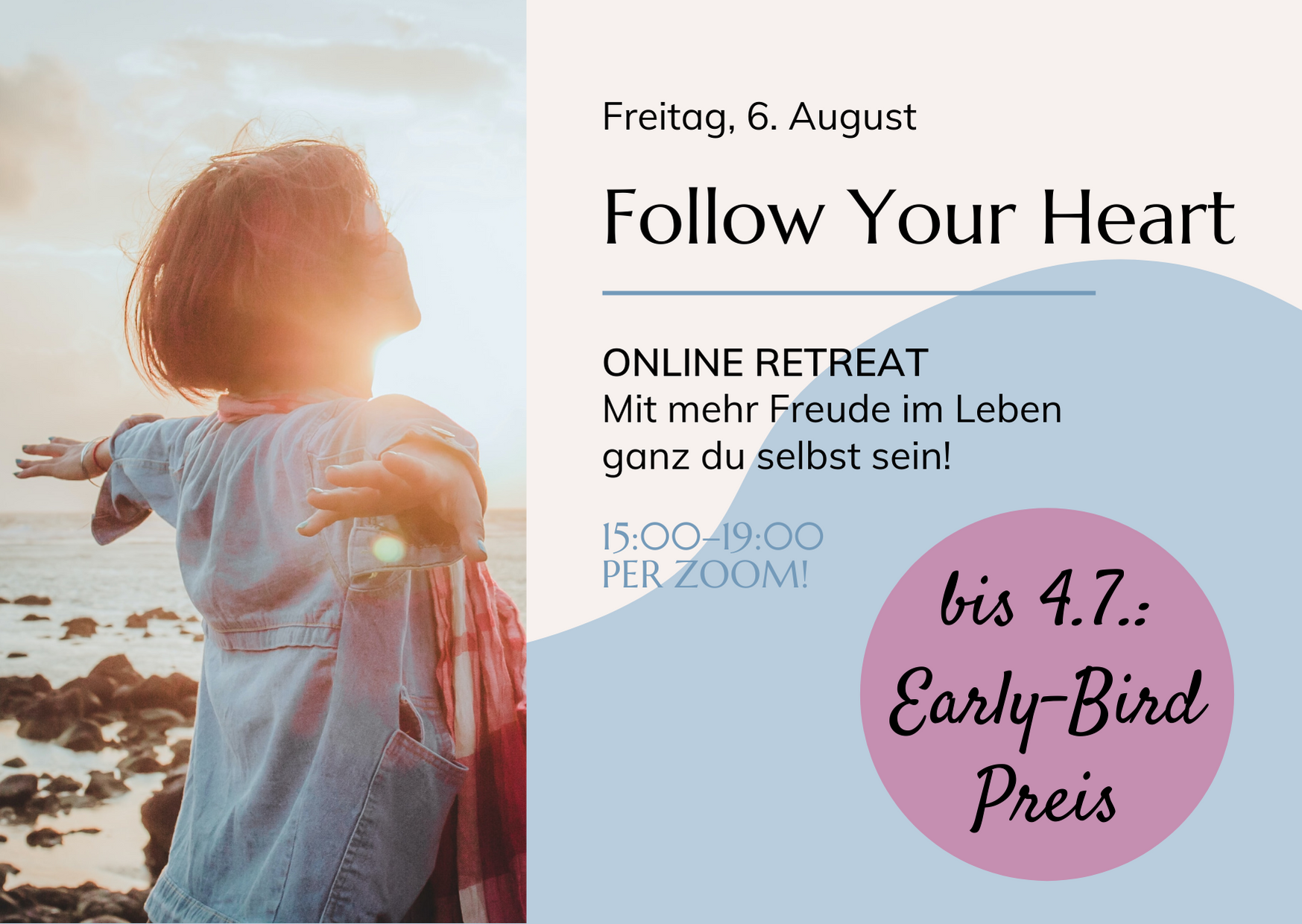 STUDIO ICH Rita Hofmeister Online Retreat Follow Your Heart Hemma Marenzi kakaozeremonie Journaling Aroma-Yin-Yoga NEU